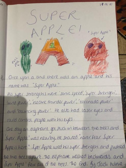 Jack's Super Apple story