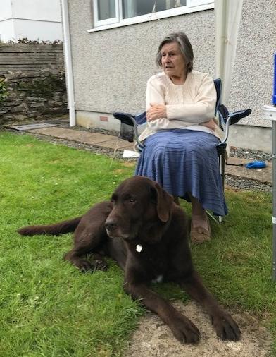 Looking after Gran