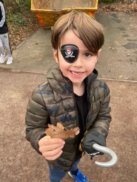 finding a winter leaf