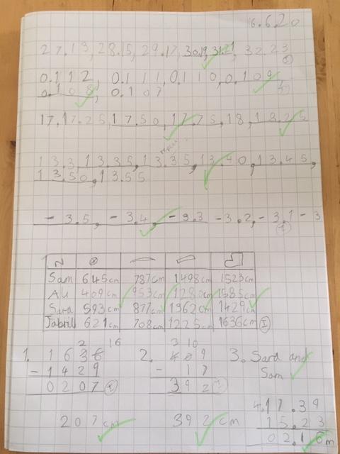 Charlotte's maths