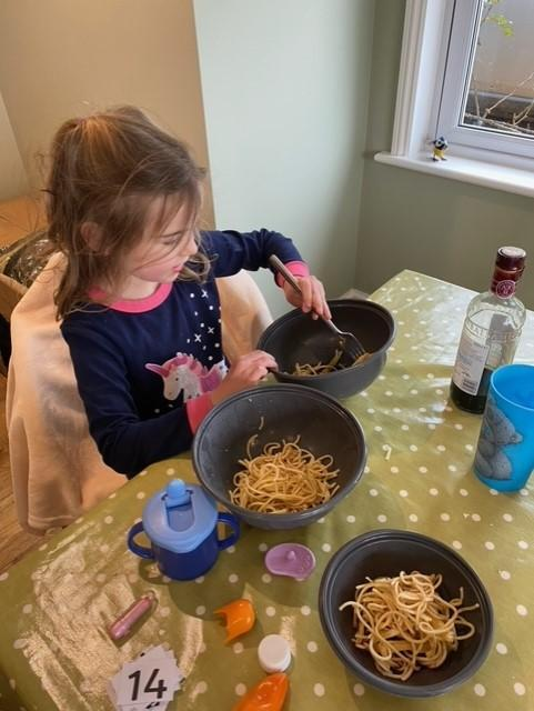 Spaghetti three ways