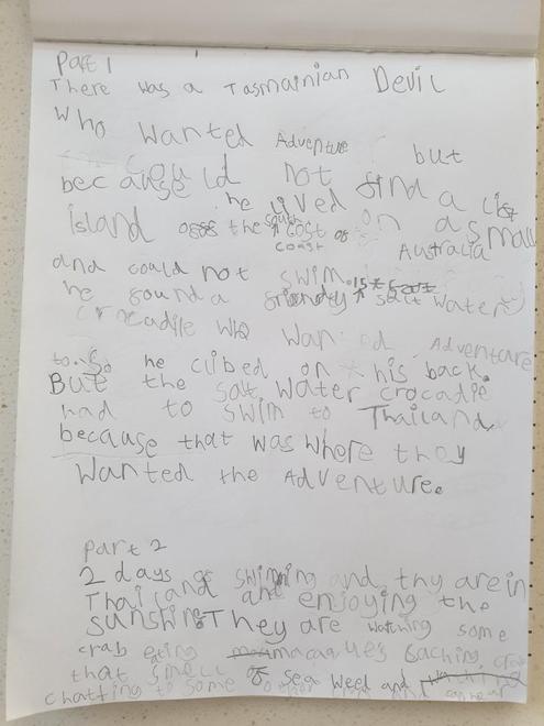 Fletcher's story part 1