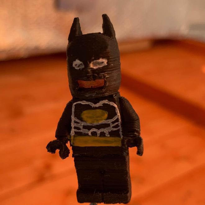 Ethan helped to make Batman