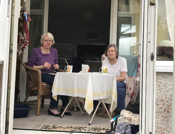 Auntie Paula and Gran