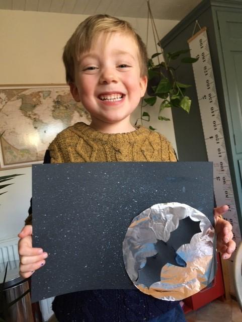 A very proud artist !