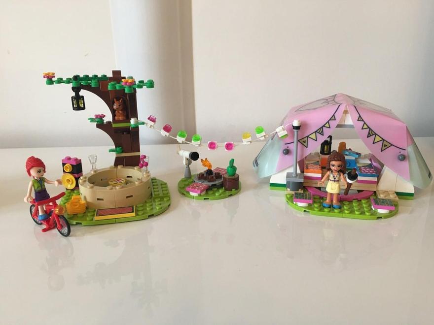 Bella's lego camp