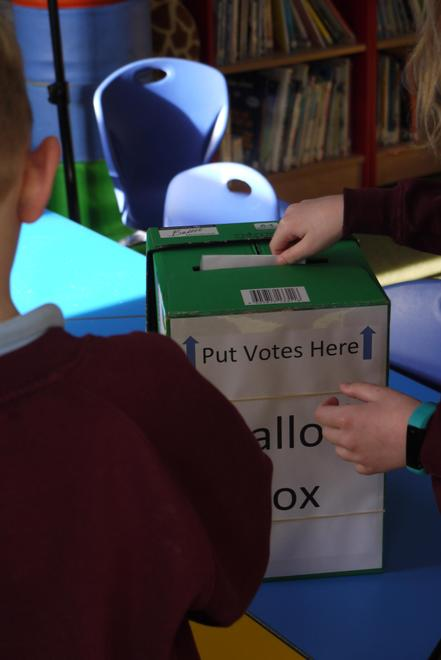Learning about our parliamentary system with a mock general election