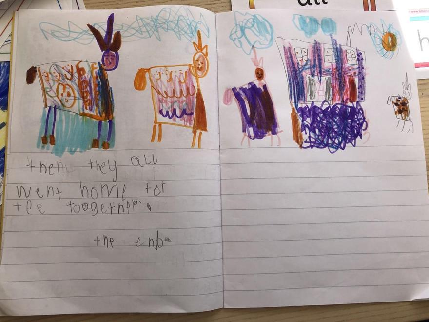 Violet's unicorn story p3