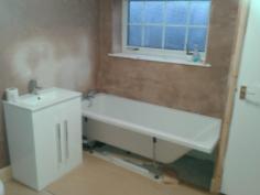 New bathroom Part 2