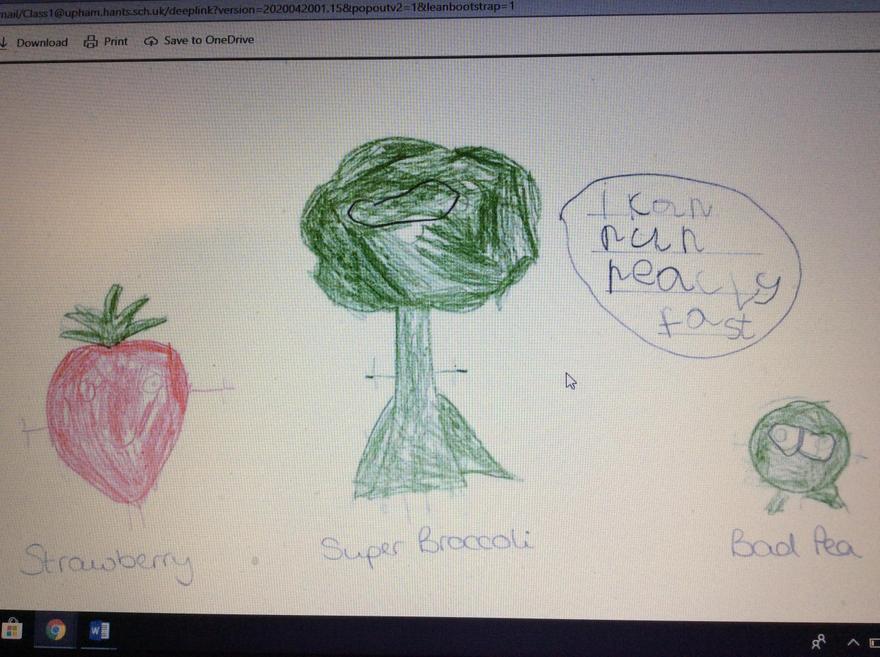 Paige - Super Broccoli characters