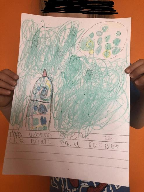 Zain's writing about Worm Number 6