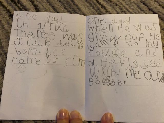 Nicole's Simba cub story