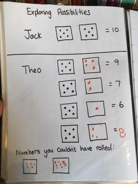 Theo has been working hard on his maths