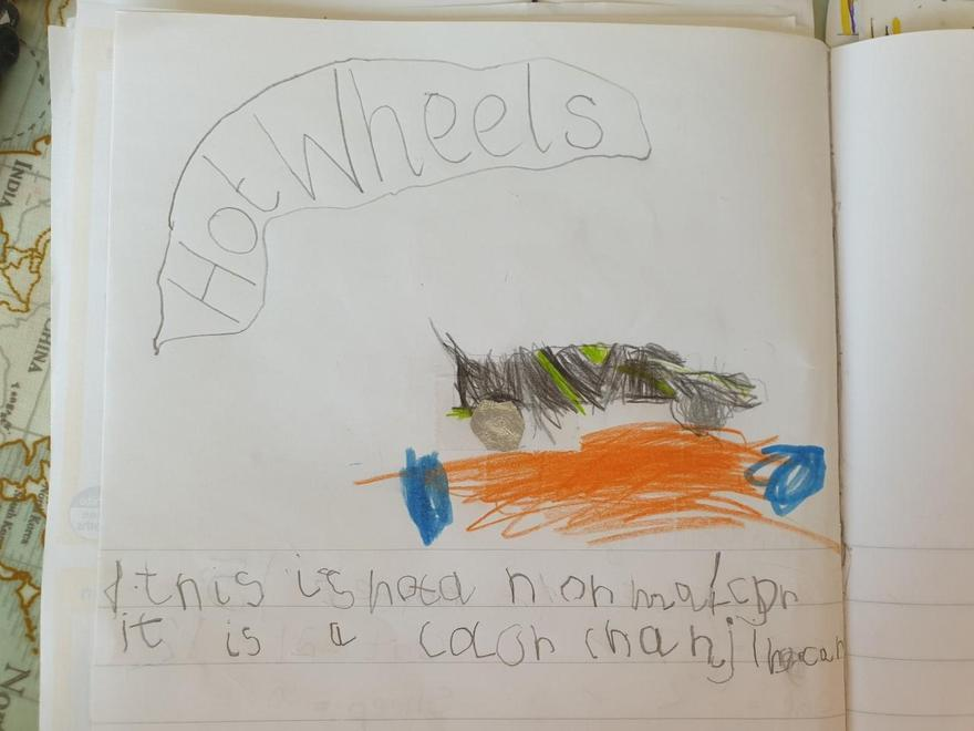 Charlie's Easter activities writing