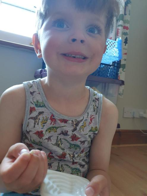 Much tooth fairy excitement for first lost tooth