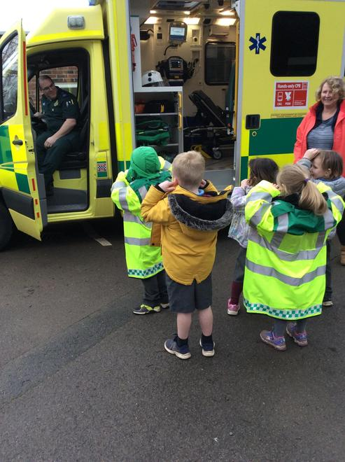 Learning about the body from a paramedic ...