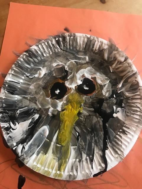 Jacob's owl plate