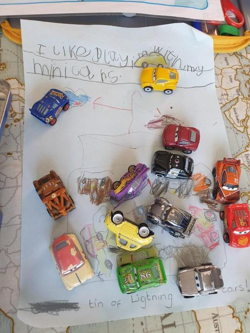 Super Lightning McQueen mini cars