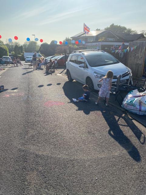 Street party VE Day celebrations