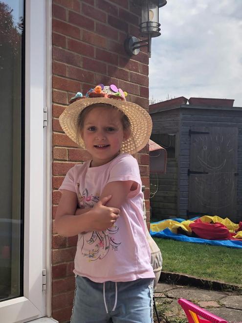A very smart Easter bonnet