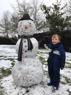 What a big snowman