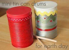 tin can drums
