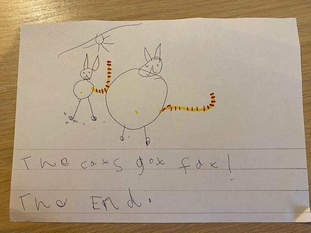 Esther's snow cat story p5