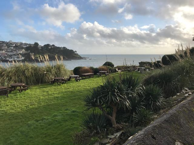 The view at Fowey