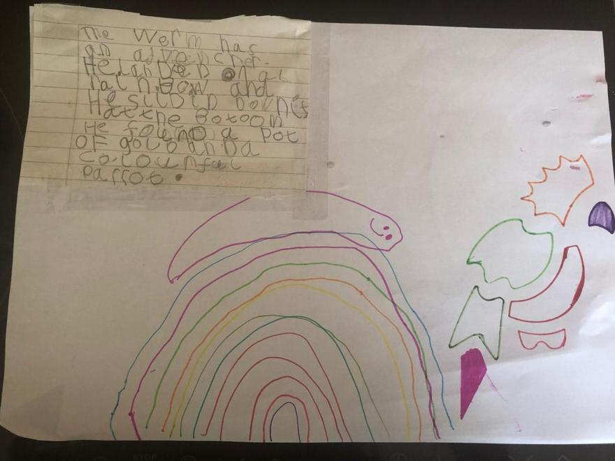 Nicole's story about worm number 6