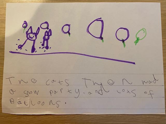 Esther's snow cat story p3