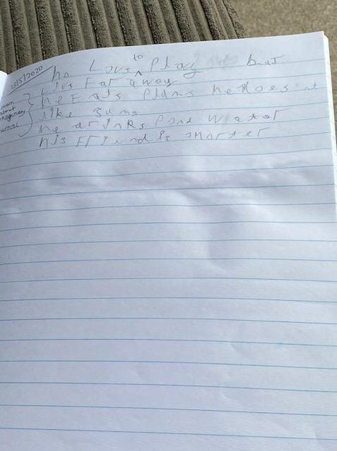 Freddie's Poem