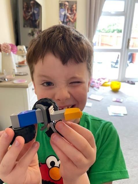 Freddie's daily lego!