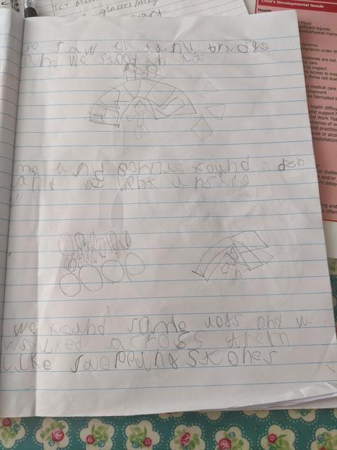 More of Etta's writing.