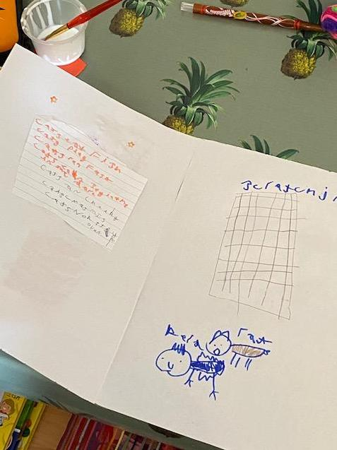 Freddie wrote about his cats