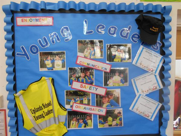 Year 5s have been training to be Young Leaders