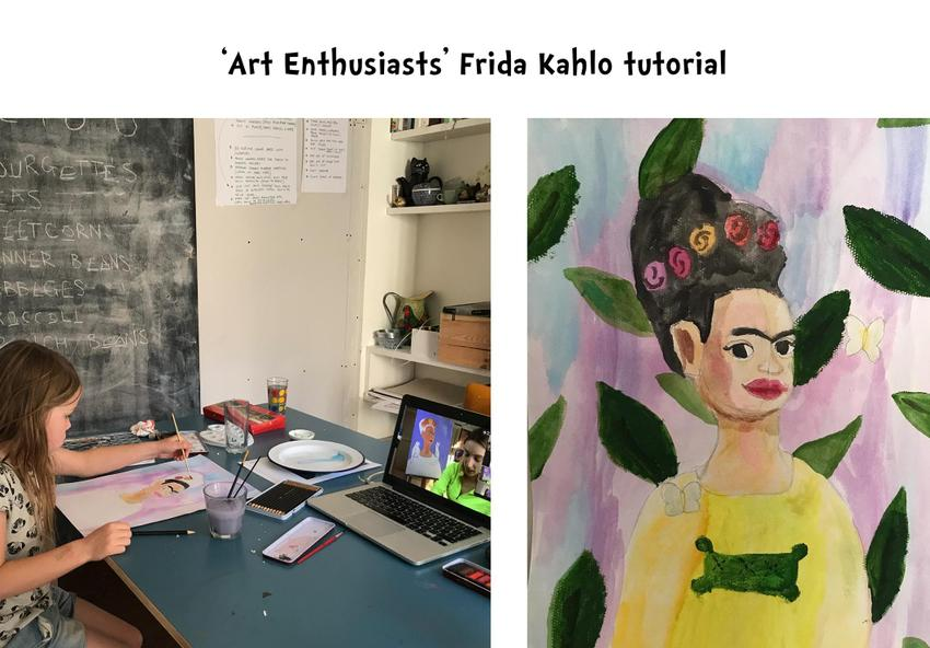 Fabulous Frida Kahlo art by fabulous Frida!