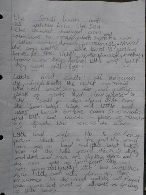 More writing by Nerys.