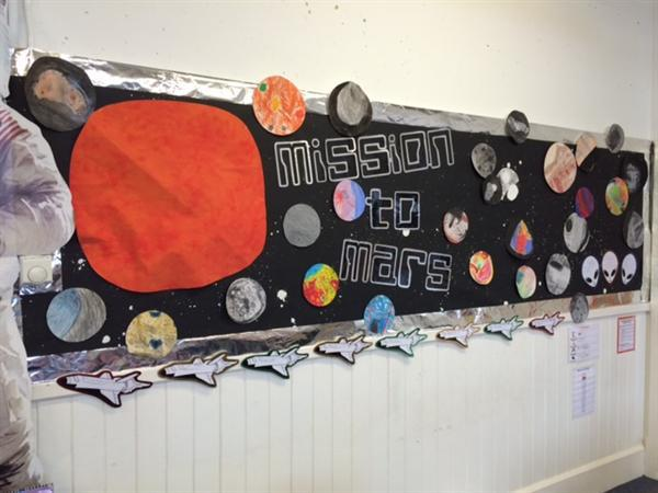 Eagles Class space art