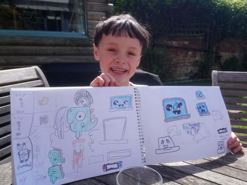 Amazing drawing Noah!