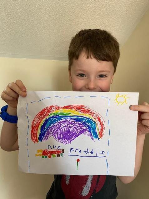 Freddie's rainbow.