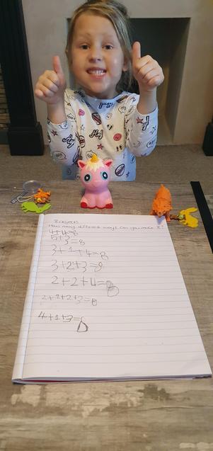 Great maths Alayah!