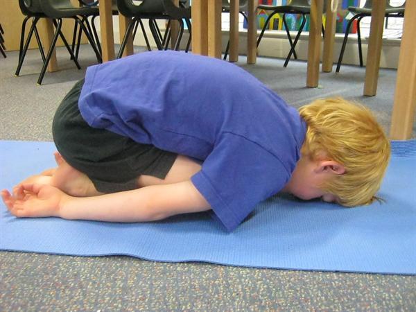 'child pose' in Yoga Club