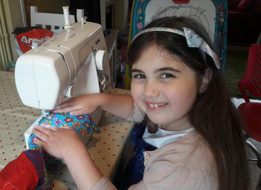 Flo's sewing