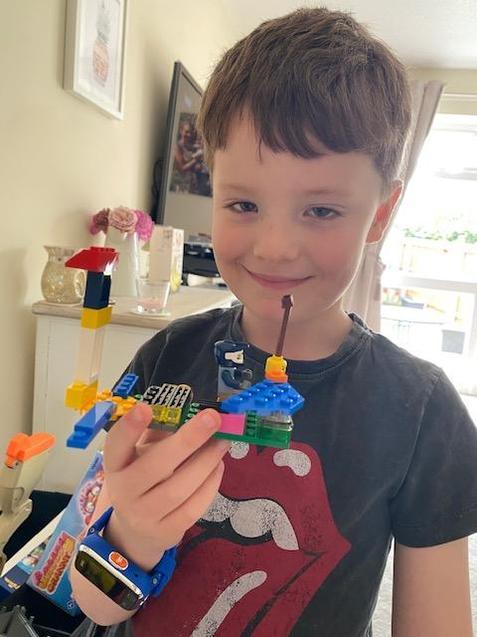 Freddie's daily lego.