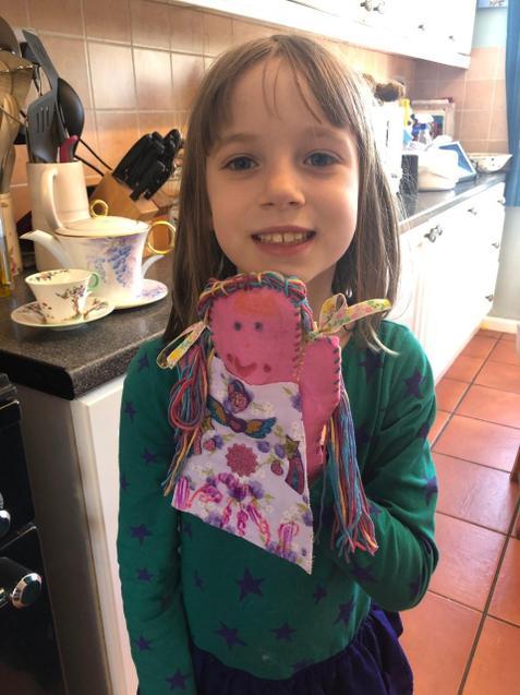 Isobella's puppet