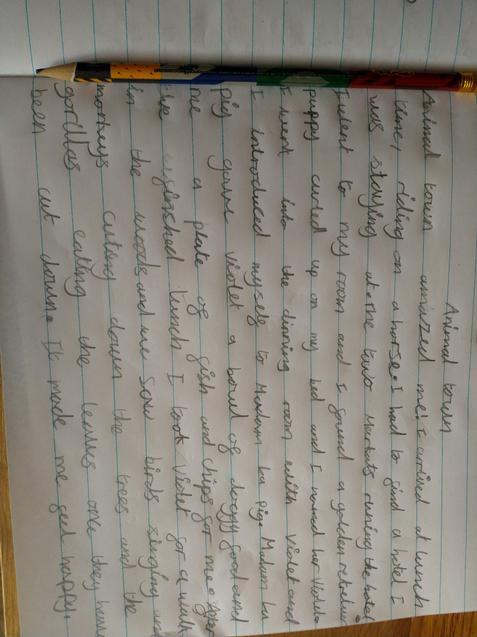 Lovely writing Nerys.