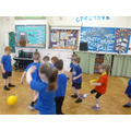 Fantastic football skills this week!