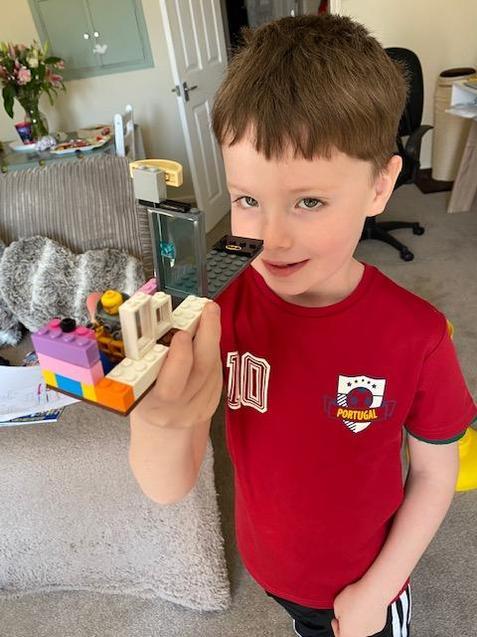 Freddie's daily lego model!