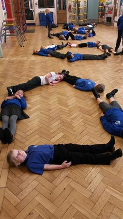 Making shapes in Maths!