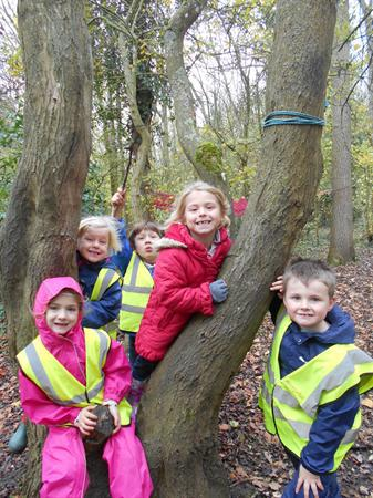 We had a great day out at Cotswold Forest School!